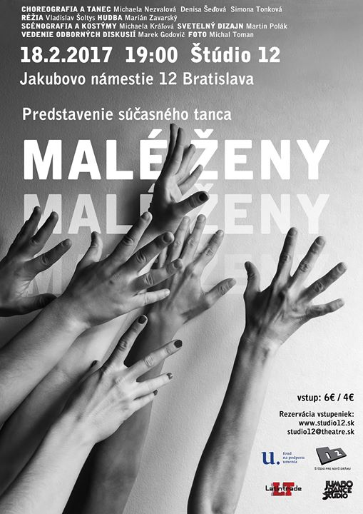 male zeny dance performance poster
