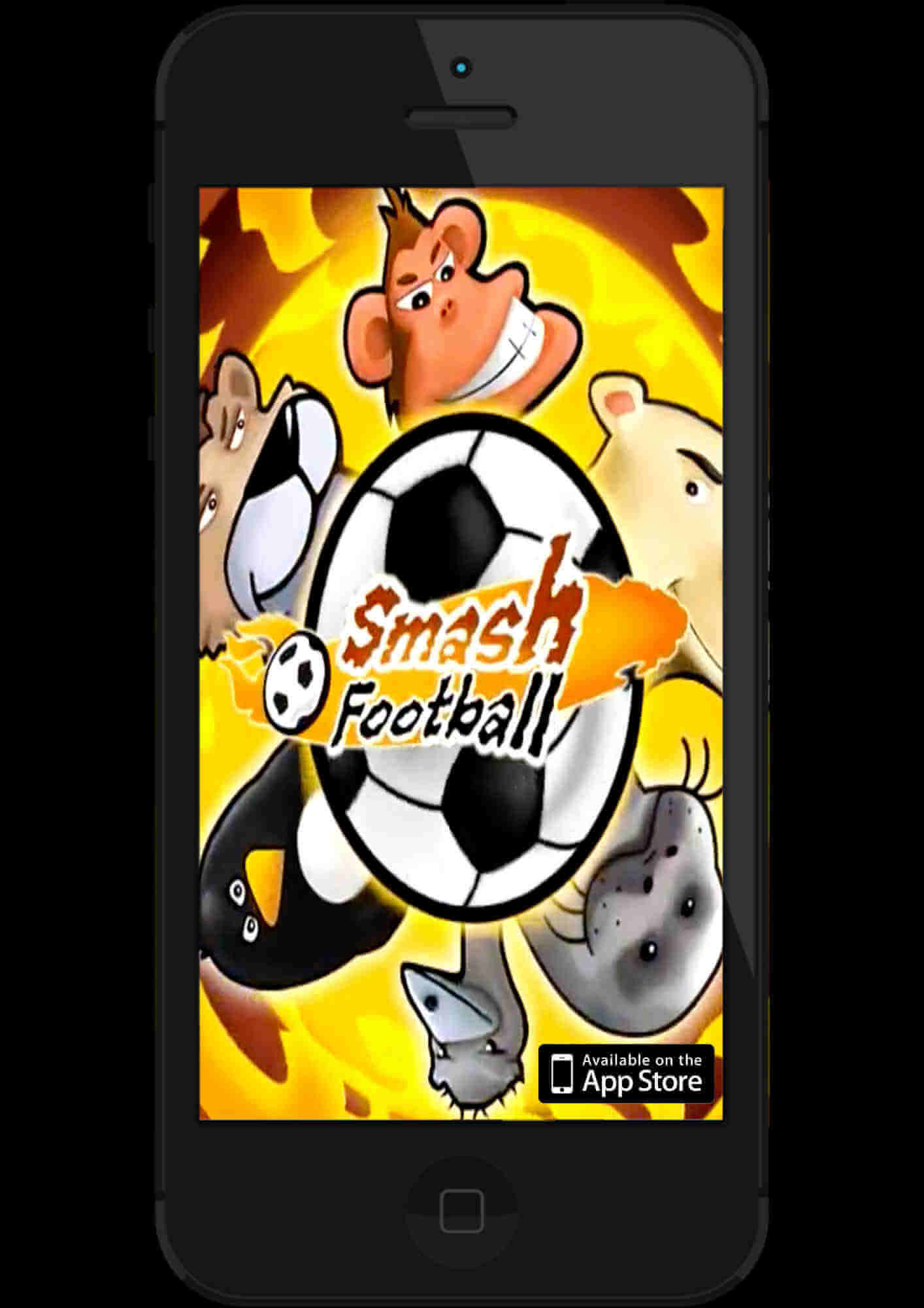 smash football game poster